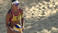 Voley playa - Madison Beach Voley Tour 2019. Campeonato de España. Final femenina