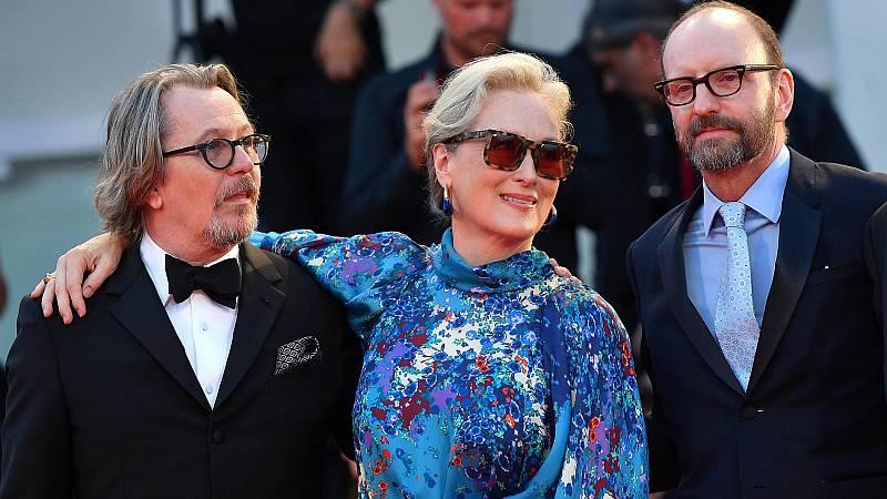 Meryl Streep presenta en la Mostra de Venecia una comedia negra sobre los Papeles de Panamá