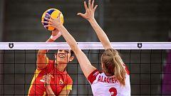 Voleibol - Campeonato de Europa Femenino. 1/8 Final: Polonia - España