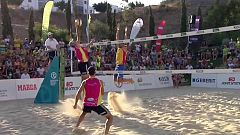 Voley playa - Madison Beach Voley Tour 2019. Campeonato de España. Final masculina