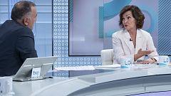 Entrevista íntegra a Carmen Calvo en Los Desayunos