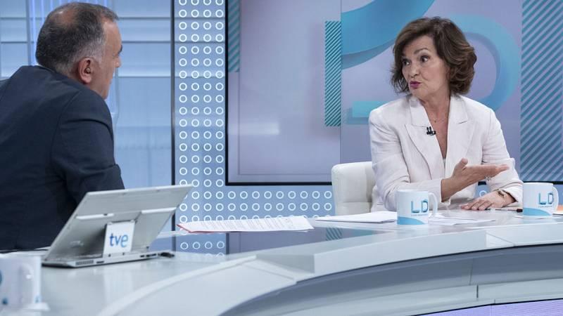 Calvo vuelve a rechazar la coalición con Unidas Podemos