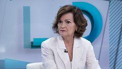 Los desayunos de TVE - Carmen Calvo, vicepresidenta del gobierno y ministra de igualdad