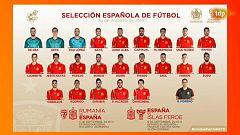 Fútbol - Lista de convocados Robert Moreno, seleccionador español.