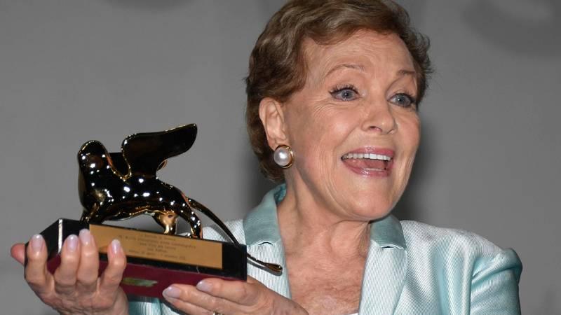 Julie Andrews recibe el León de Oro de la Mostra de Venecia por toda su carrera