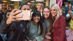 España Directo - Maggie Civantos y Salva Reina hablan para 'España Directo' desde el FesTVal de Vitoria