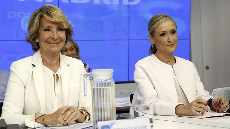 Esperanza Aguirre y Cristina Cifuentes, imputadas en el 'caso Púnica'