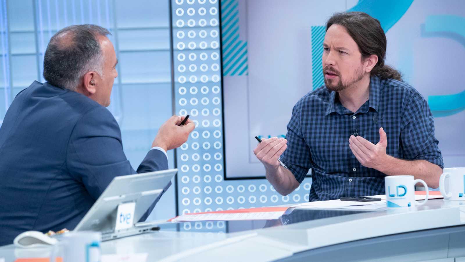 Entrevista íntegra a Pablo Iglesias en Los Desayunos de TVE