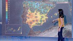 Temperaturas en descenso en Galicia y en área cantábrica y tormentas en el sureste peninsular