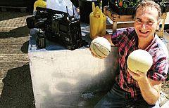 Aquí la tierra - Cosechar melones tiene truco