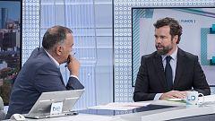 Los desayunos de TVE - Iván Espinosa de los Monteros, portavoz de Vox en el Congreso