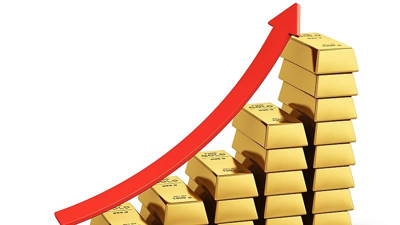 El oro marca máximos de los últimos seis años