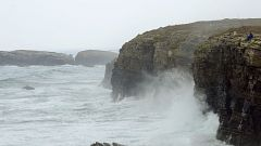 Intervalos de viento fuerte en el litoral de Galicia, Ampurdán, valle del Ebro y Menorca