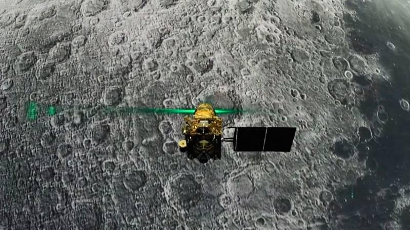 La India pierde el contacto con la sonda Chandrayaan-2 durante el alunizaje