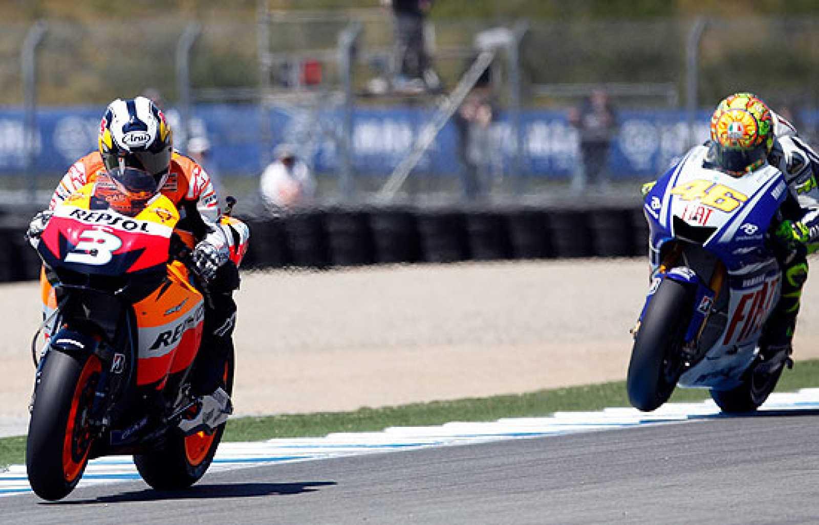 Mejores momentos de la carrera de MotoGP de Laguna Seca.