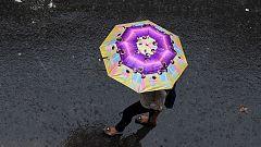 Lluvias en todo el área mediterránea y temperaturas suaves