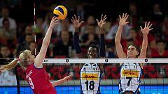 Voleibol - Campeonato de Europa femenino, 1ª Semifinal: Serbia-Italia