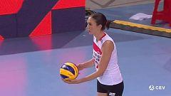 Voleibol - Campeonato de Europa femenino. Final: Serbia - Turquía