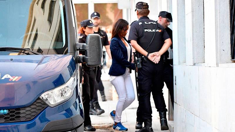Ana Julia Quezada llega a la Audiencia de Almería para ser juzgada por el asesinato del niño Gabriel