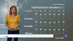 El tiempo en Andalucía - 9/9/2019