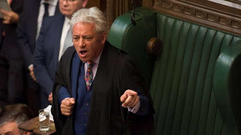 El presidente de los Comunes dimitirá el próximo 31 de octubre