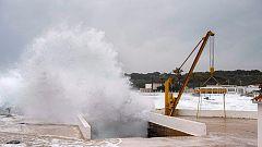 Chubascos y tormentas torrenciales en Cataluña y Baleares