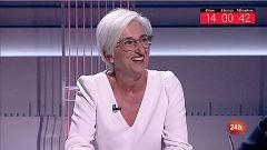 """María José Segarra, sobre el juicio del 'procés': """"Ningún país europeo ha asumido un juicio de esta envergadura con tanta transparencia"""""""