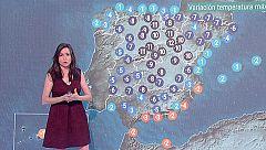 Alerta por lluvias en 27 provincias y bajada general de temperaturas