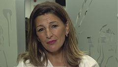 """Yolanda Díaz (UP), sobre las negociaciones con el PSOE: """"Esta reunión y esta semana son claves"""""""