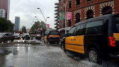 27 provincias españolas en alerta por viento, tormentas y fenómenos costeros