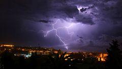 Precipitaciones muy fuertes en Cataluña, Valencia y Baleares