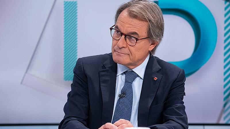 """¿Artur Mas, candidato a la Generalitat?: """"Personalmente"""" no, pero no lo descarta """"por responsabilidad"""""""