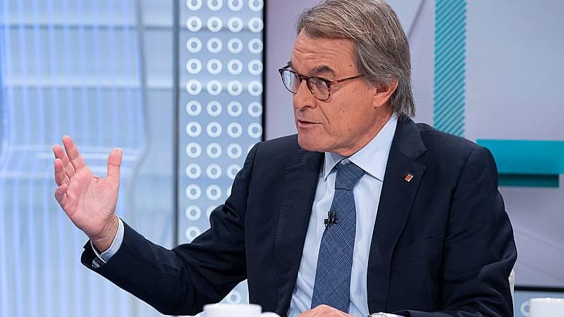 """Artur Mas, tras el 'pinchazo' de la Diada: """"La movilización en Cataluña es extraordinaria, tanto en las calles como en las urnas"""""""