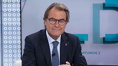 Los desayunos de TVE - Artur Mas, expresidente de la Generalitat de Cataluña