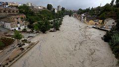 El río Clariano se desborda en Ontinyent