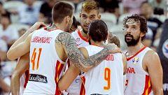 La selección española ya prepara la semifinal contra Australia en Pekín