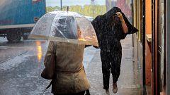 Precipitaciones muy fuertes o persistentes, e incluso torrenciales en el sudeste peninsular e Ibiza