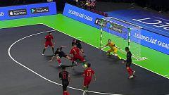 Fútbol Sala - Campeonato de Europa sub-19. 1ª Semifinal: Portugal - Croacia