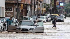 Fuertes precipitaciones en el sudeste peninsular e Ibiza