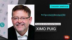 """Ximo Puig pide """"máxima prudencia"""" a la población: """"Orihuela está aislada"""""""