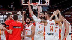 España vence a Australia tras dos prórrogas y se mete en la final del Mundial