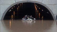 La gota fría deja graves inundaciones en Murcia
