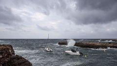 Precipitaciones torrenciales muy fuertes en el sureste peninsular y sur de Baleares