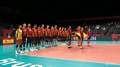 Voleibol - Campeonato de Europa Masculino: Eslovaquia - España. Desde Amberes (Bélgica)