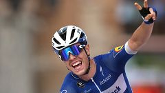 Polémica en la 19ª etapa de la Vuelta que se llevó Cavagna