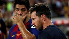 Messi queda fuera de la lista ante el Valencia, vuelve Suárez