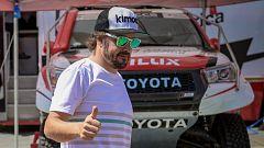 Fernando Alonso y Marc Coma han competido por primera vez juntos