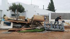 Los daños de la gota fría en Alicante: Orihuela y Almoradí sufren en la Vega Baja