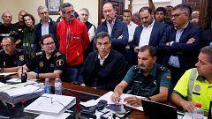 """Sánchez tras visitar las zonas afectadas por la DANA: """"El Gobierno no va a escatimar ningún tipo de recurso para dar una respuesta a esta crisis de protección civil"""""""