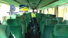 La Policía Nacional desmantela una red de tráfico de seres humanos